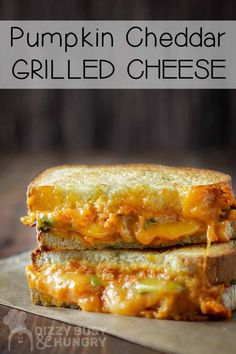 Looking for kid-friendly grilled cheese recipes for kids and adults? This is a quick, healthier version of grilled cheese sandwich made with pumpkins and veggies #dizzybusyandhungry #grilledcheese #sandwich #kidfriendly #cheese