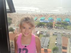 Mi hija de veraneo!!!!