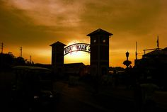 Sunset over the boardwalk - Put In Bay, Ohio by jayc8817, via Flickr
