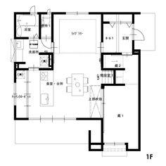 クリックすると新しいウィンドウで開きます Floor Plans, Diagram, Floor Plan Drawing, House Floor Plans