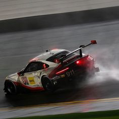 The 55th running of the Daytona 24-hour race was a successful debut of the new 911 RSR – despite steady rain and unusually cool temperatures.  More about the challenging race: newsroom.porsche.com // article: 911 RSR takes second place at race debut  #porsche #porschenews #porschenewsroom #porsche911 #911rsr #porsche911rsr #newrsr #daytona #racetrack #racing #sport #sports #sportscar #car #cars #racecar #race #success #instacar #instacars #porscheraces#porschepix #secondplace #porschelife…