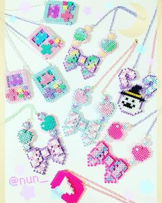 Candye♡Syrupにもっていったものたち #perlerbeads #candyesyrup