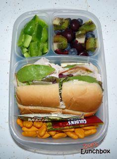 Sub-Stitue Sandwich #Easylunchboxes