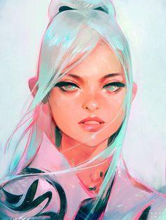 Nima Sketch, Ross Tran on ArtStation Character Inspiration, Character Art, Trans Art, Posca Art, Wow Art, Digital Art Girl, Art Inspo, Painting Inspiration, Amazing Art