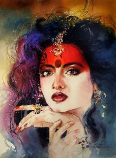 Watercolor paintings by Samir Mondal on Behance