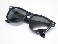 55693f93cfa Ray-Ban RB 2140 Original Wayfarer 901 58 Shiny Black Polarized Sunglasses