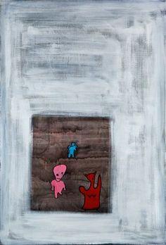 Eleonora Mazza Artwork Angels and devils, 2010 Acrylic Painting, undecided