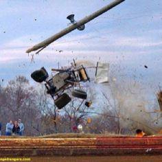 Sprint car crash