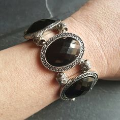 Check out this item in my Etsy shop https://www.etsy.com/listing/515048921/neo-victorian-gothic-bracelet-black-prom