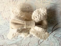 Items similar to Lace and Leather Bow Cuff on Etsy Leather Bow, Truffles, Cherry, Winter Hats, Bows, Couture, Lace, Etsy, Cake Truffles