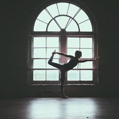 I love the silhouette technique, the simplicity of the white-black-grey, as well as the yogi vibe.