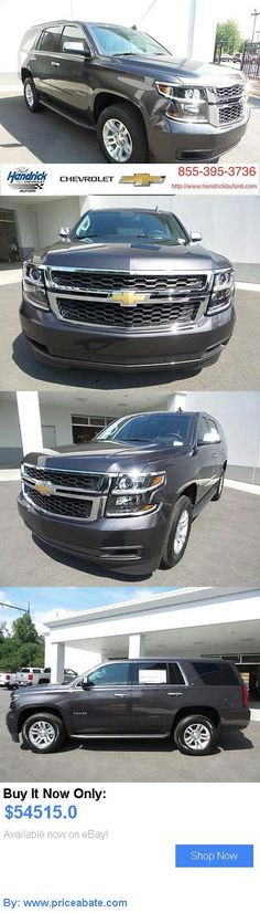SUVs: Chevrolet: Tahoe 2Wd 4Dr Lt 2 Wd 4 Dr Lt New Suv Automatic Tungsten Metallic BUY IT NOW ONLY: $54515.0 #priceabateSUVs OR #priceabate