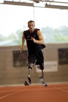 Richard Whitehead: My aim is to use London 2012 as platform to inspire people from all walks of life. This includes not only disabled athletes, but able-bodied ones too – anyone who may want to get out there and run. I am living proof, that with enough desire and determination, any obstacle can be overcome.
