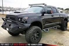 Tundra with Fab Fours bumper