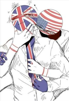 Me borraron el libro :^ # Fanfiction # amreading # books # wattpad Usa Country, Country Art, Human Flag, Anime Drawing Styles, Mundo Comic, Usuk, Cool Countries, Marvel Funny, Fandom