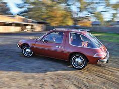 1976 Amc Pacer - looks just like my 1st car.!. Bro had one of these!