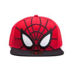 Marvel Spider Man 3D Mesh Eyes Snapback Cap Red Black #Marvel #Spiderman