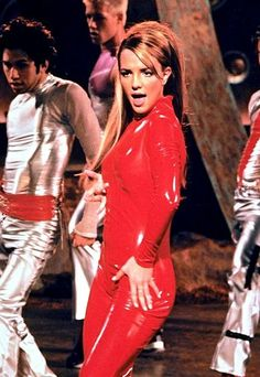 Britney Spears Oops I Did It Again Outfit White