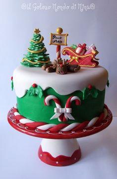 Il Goloso Mondo di Minu': Christmas Cake e buon Natale!