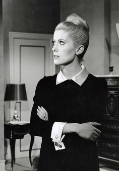 #CatherineDeneuve as perfectly beautiful, and beautifully perfect, as ever. Oh, my god, I WORSHIP this woman!