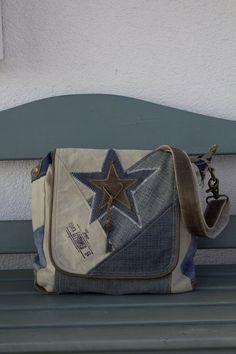Tolle Sunsa Jeans Messengertasche! Deine geeignete Umhängetasche für alle Anlässe.