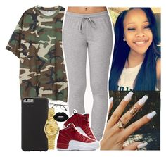 """Camo "" by saucinonyou999 ❤ liked on Polyvore featuring Forever 21, NIKE, Case-Mate, ZeroUV, Rolex and Lime Crime"