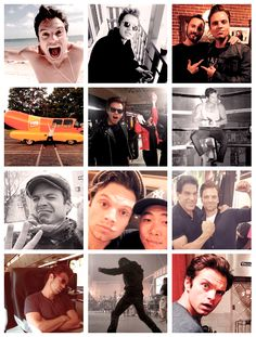 sebastian stan + instagram photos