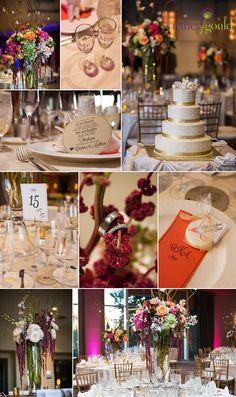 Royal Sonesta Hotel Boston wedding details, centerpiece, wedding cake http://nancygould.com/candace-matt-royal-sonesta-cambridge-massachusetts