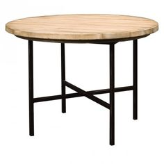 Pomona round breakfast table