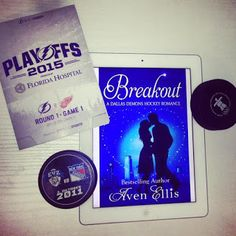 Sky's Book Corner: Breakout – by Aven Ellis + Extract  #review #romance #books #hockey