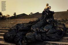 Annie Lebowitz photoshoot for Vogue...