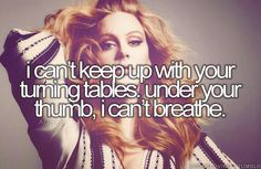 25 ideas quotes lyrics adele words for 2019 New Quotes, Lyric Quotes, Family Quotes, Happy Quotes, Truth Quotes, Best Song Ever, Best Songs, Turning Tables Adele, Adele Songs
