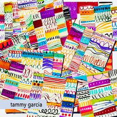 Mini-Patterns, Mandalas & Beaches by Tammy of DaisyYellow Blank Journal, Yellow Daisies, What Book, Mark Making, Painting For Kids, Ink Art, Beaches, Art Projects, Daisy