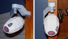 PAPERMAU: Portal - GLaDOS Security Camera Paper Model - by Mike McDermott
