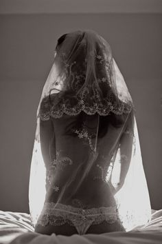 bridal boudoir #wedding