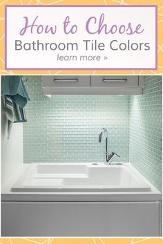 From glass tiles to natural stones, there's a colored tile that will fit your personal taste and room's theme. When deciding on a bathroom tile color, there are many factors to consider before installing tile on your floor, walls, or showers. Read on to find out more.