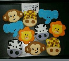 2 docenas enviadas a USA la semana pasada! 🐵🐘😀👌😍🍪 #inlove #mycookiecreations #animalcookies #zooanimals #zoocookies #cookies #zoo #animals