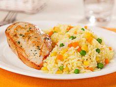 Receta de Arroz a la Jardinera, como prepararlo, Ingredientes y Preparacion paso a paso en casa, video y tips. Comida Peruana.