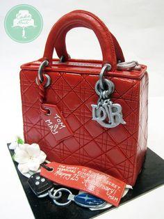 Lady Dior Cake