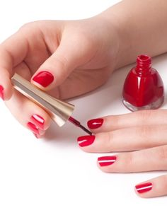 Listen up ladies! We've got your step-by-step guide to a shellac manicure. #nails #diy