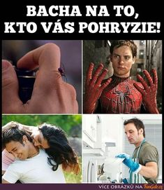 Pozor na to, kdo vás pokouše! Funny Memes, Jokes, Adult Humor, Haha, Funny Pictures, Marvel, Funny Things, Drawings, So Funny