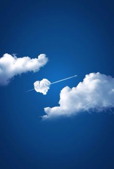Cloud heart...photoshopped, but lovely!