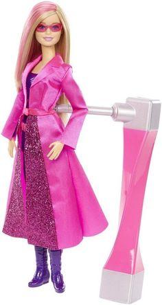 Amazon.es: Barbie - Muñeca Super espía, 23 x 33 cm (Mattel DHF17): Juguetes y juegos