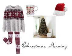"""Christmas Morning"" by christieveg on Polyvore featuring Chicnova Fashion and Ballard Designs"
