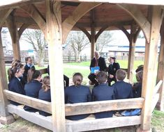 Our new outside classroom...