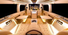 This Mercedes Viano Is A Luxurious Lounge on Wheels