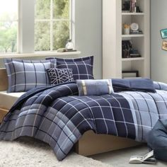 86 x 96 queen - Cozy Soft® Arron 4-5 Piece Comforter Set - BedBathandBeyond.com