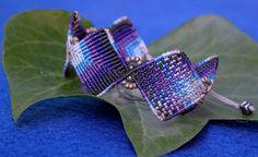 BLUE / BOHO / BEACH / Festive Macrame Bracelet by Birbyzossleptuve