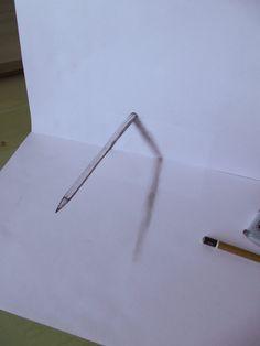 3D pencil by Mishice.deviantart.com