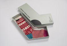 Embalagem de meia em homenagem ao friosinho...